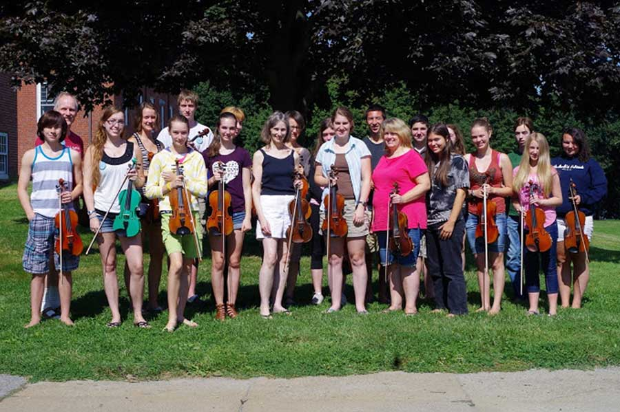 Boston Harbor Fiddle School, every August